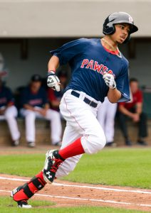 Mookie Betts on the Pawtucket Red Sox